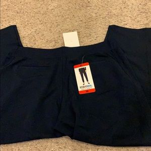 32° ankle length navy pants
